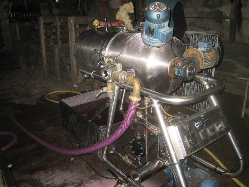 フィルトラージュの機械