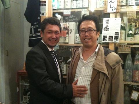大橋健一さんと平山さん2