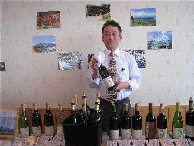 中央葡萄酒さん