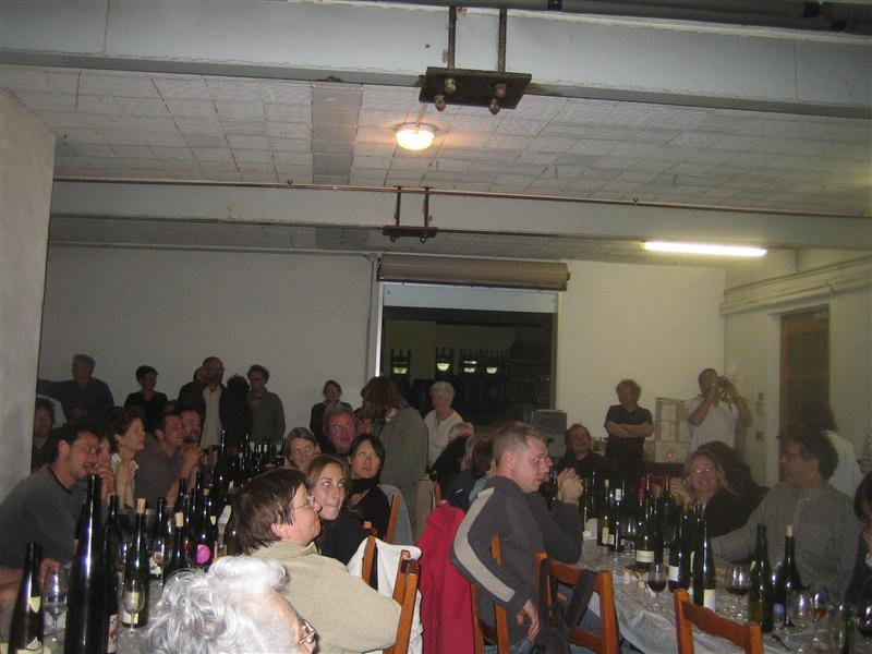 すごい量のワインたち
