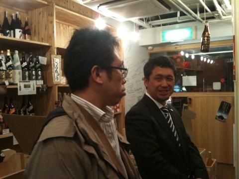 大橋健一さんと平山さん