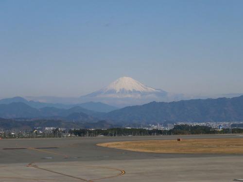 空港からの富士山1 002