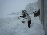 雪・雪・雪・・・除雪だぁ(+_+)