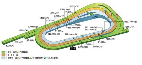 京都競馬場 コース 1