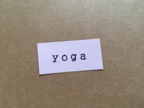 yoga文字