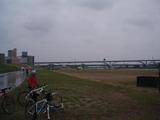 TOKYOセンチュリーライドのコース上の写真
