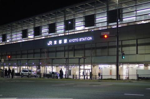 朝6時の京都駅