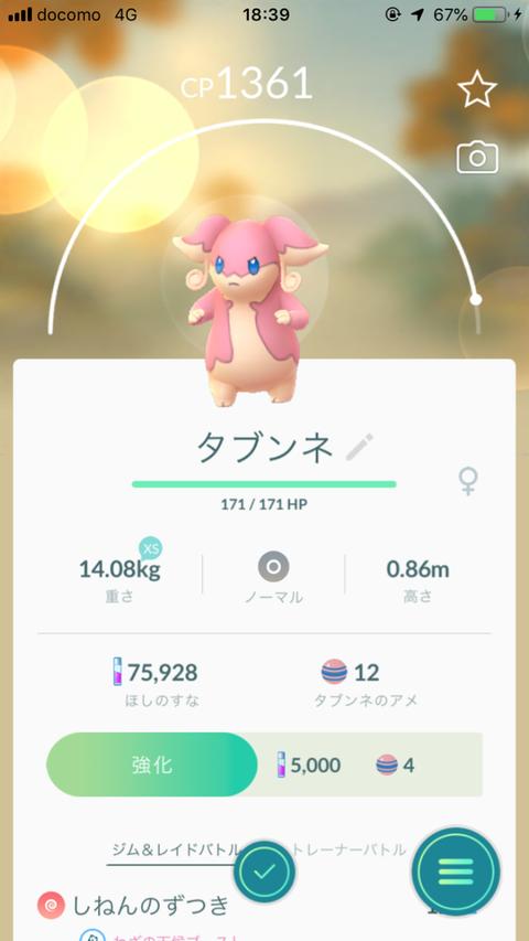 タブンネ(迫真)