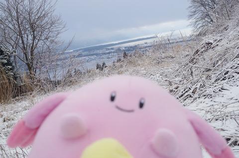 猪苗代湖とラッキー♡