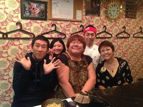 20140110魔法のレストラン石ちゃん、麒麟