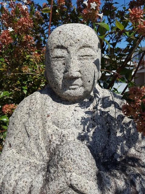 その笑みは何ら変わらない=いずれも江南市古知野町和田で 撮影・たかのぶ