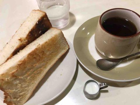 『喫茶・軽食 ミタカ』モーニング