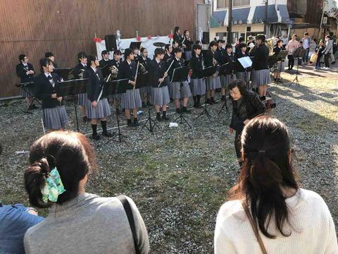 『藤の市』古知野高校オープンニング演奏