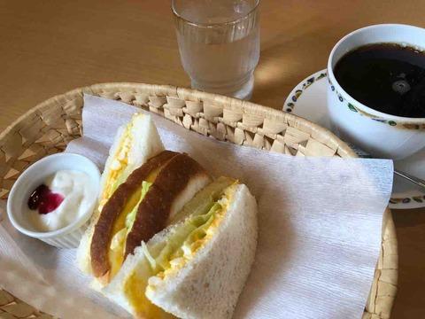 『カフェ ツイン(cafe Twin)』モーニングBセット