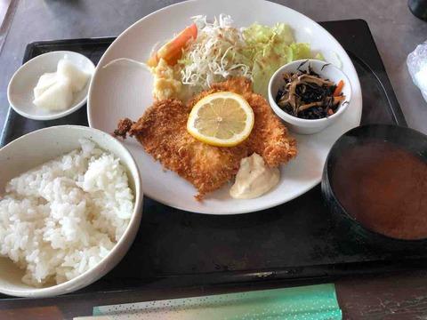 『シャトーマスミ』魚フライ定食