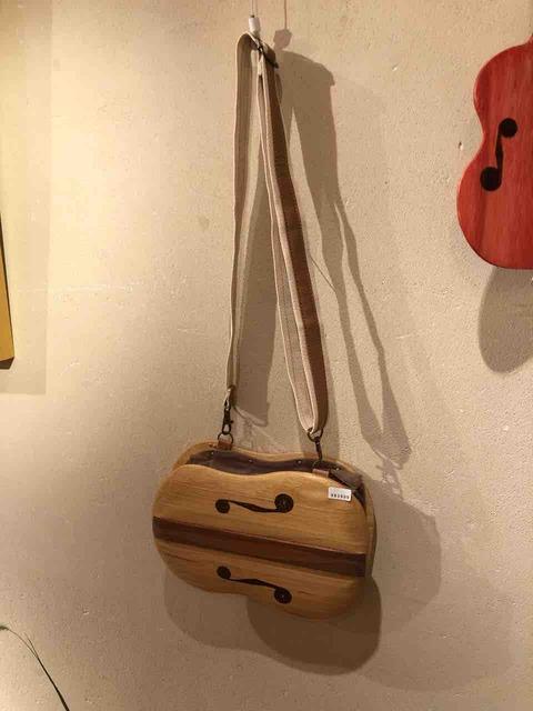 『木工 中村幸人 ―木の調べ展ー』バイオリンのバッグ