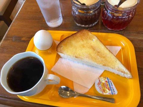 『CAFE DE クレール』モーニング