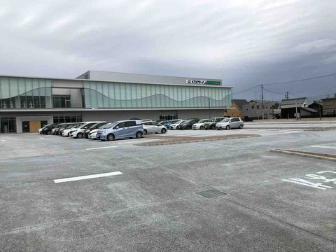 KTXアリーナ(江南市スポーツセンター)駐車場完成