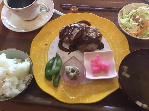 喫茶サコーハンバーグ定食