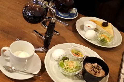 『Cafe コトノハ』おこわモーニング