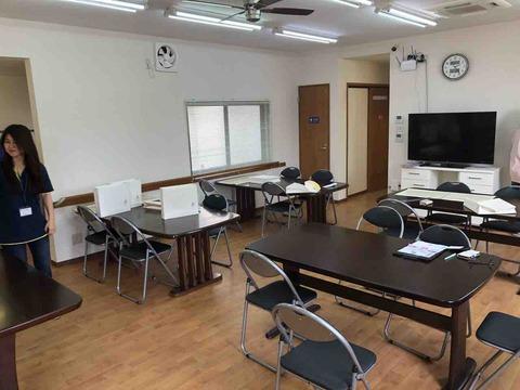 就労支援福祉センター『ワークシップ愛岐』施設の部屋