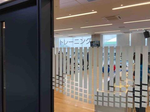 「KTXアリーナ」トレーニング室