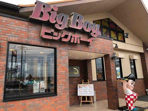 『ビッグボーイ(Big Boy)愛知江南店』店舗外観