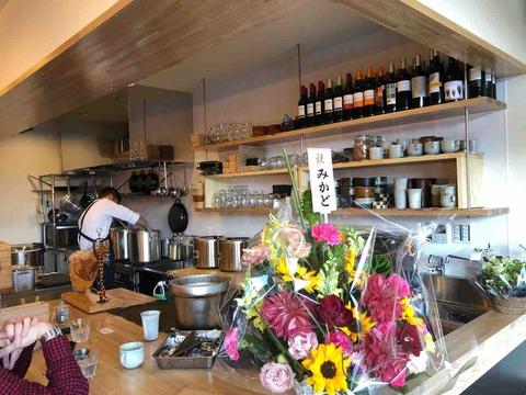 『スープカフェ スペインバル コマ(SOUP CAFE SPAIN BAR KOMA)』店内カウンター