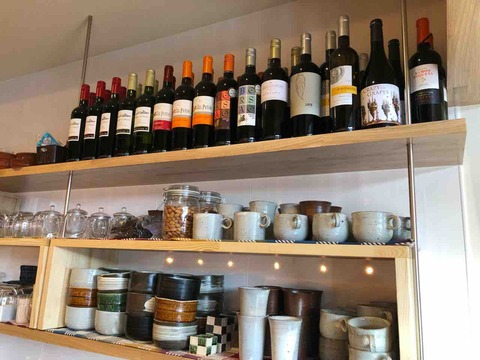 『スープカフェ スペインバル コマ(SOUP CAFE SPAIN BAR KOMA)』ワインの品ぞろえ充実