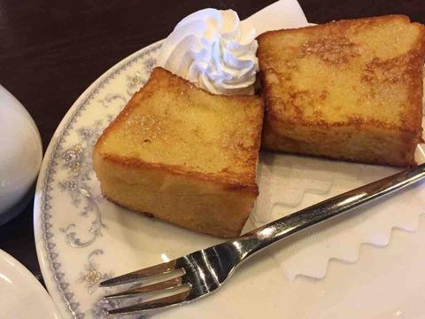 『茶房 迎賓館』モーニング フレンチトースト