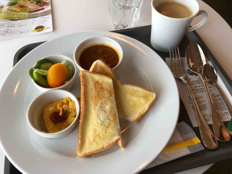 『BADI CAFE(バディカフェ)江南店』モーニング