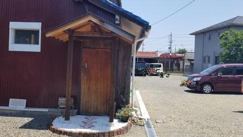 『小さなお店4april』駐車場