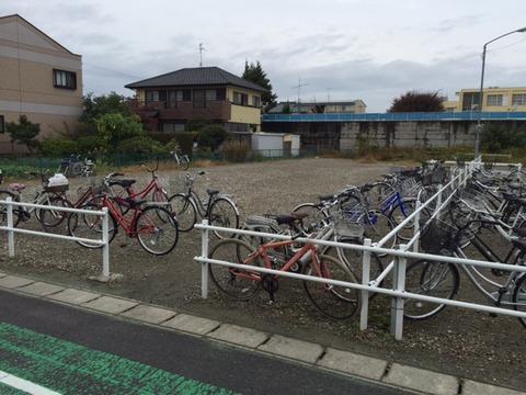 江南駅【西】駐輪場