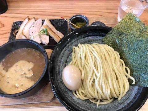 『自家製麺 つけ麺らーめん 麺道ひとひら』特製つけ麺