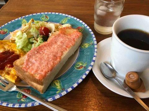 『食事 コーヒー 一茶』モーニング