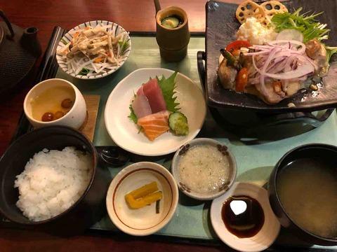 「旬菜 月兎 江南店」ランチお膳