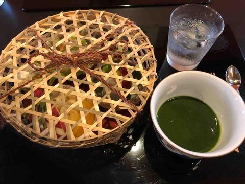 『京甘味 観茶香』抹茶フォンデュ