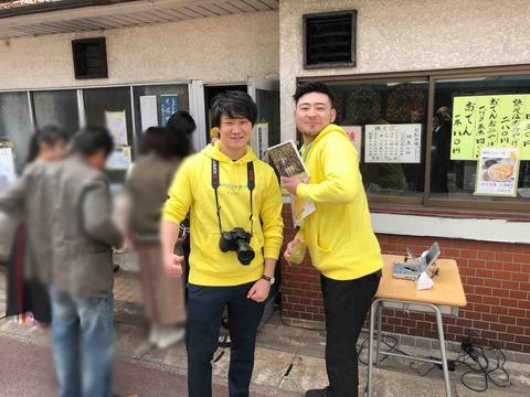 「黄色いマルシェ」江南市PR大使を目指すトズフ