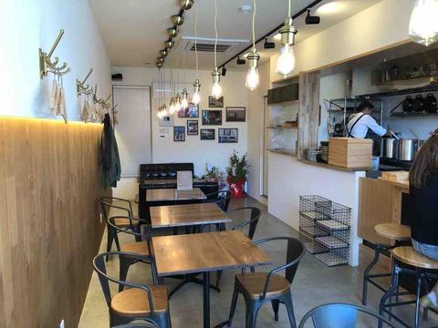 『スープカフェ スペインバル コマ(SOUP CAFE SPAIN BAR KOMA)』店内