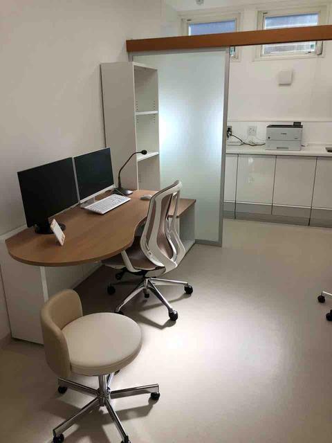 『ゆたかハートクリニック』診察室