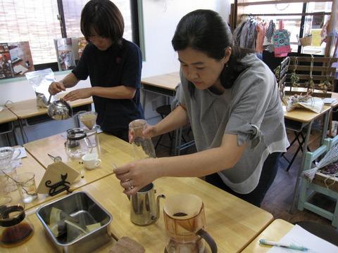 小箱コーヒー教室