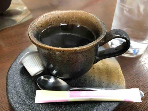 『鉄板味噌焼 なかむら屋』コーヒー