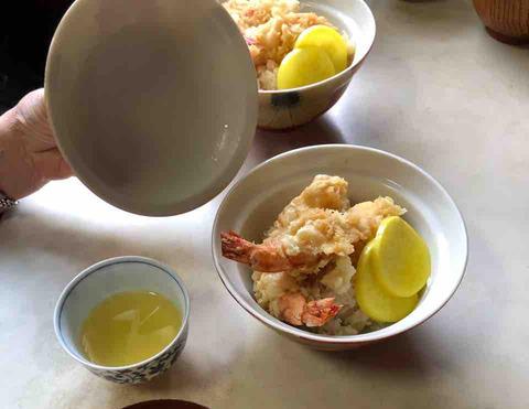 「黄色いマルシェ」天丼