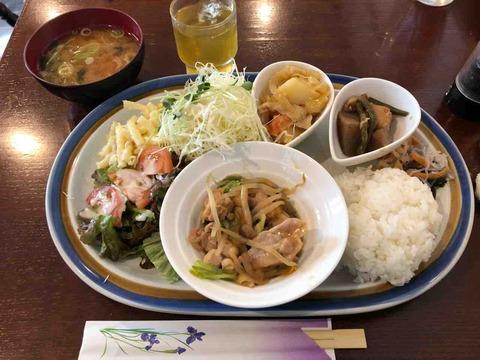 『喫茶あすなろ』お野菜たっぷり!身体にやさしい和風ごはんBランチ!