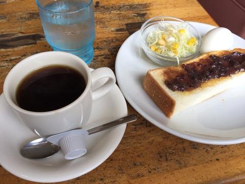 『喫茶 つかさ』13種類から選べるモーニング