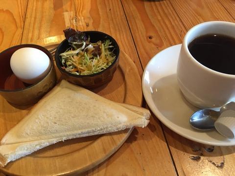 『喫茶 日向ぼっこ』モーニング