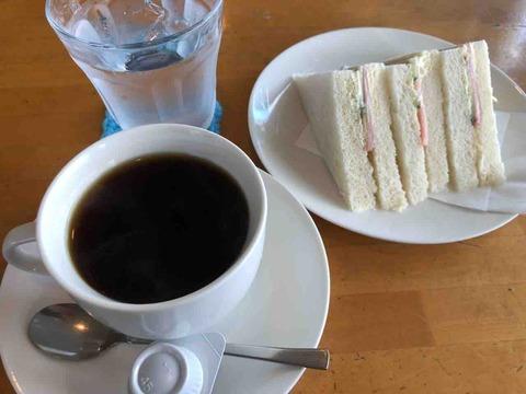 『ビッケ』日替わりサンドイッチのモーニング