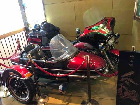 「うなぎの味栄」車?バイク?