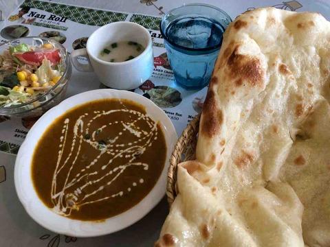 『インド料理 マンザリ』本日のおすすめカレーセット