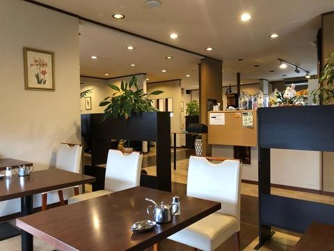 『ダイニングカフェ オーレ(Dining Café ORÉ)』店内